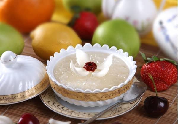 v食谱食谱:桂花菜单炖燕窝百合区别制定菜谱和的图片